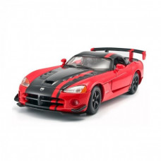 Автомодель - DODGE VIPER SRT10 ACR (асорти помаранчево-чорний металік, червоно-чорний металік, 1:24)