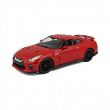 Автомодель - NISSAN GT-R (асорті червоний, білий металік 1:24)