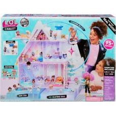 """Ігровий меганабір з ляльками L.O.L. SURPRISE! серії """"Winter Disco"""" - ЗИМОВИЙ ОСОБНЯК"""