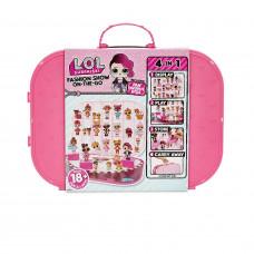 Ігровий набір з ексклюзивною лялькою L.O.L. SURPRISE! – ПОКАЗ МОД ( яскраво-рожевий)