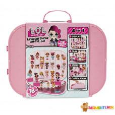 Игровой набор с эксклюзивной куклой L.O.L. SURPRISE! – ПОКАЗ МОД (нежно-розовый)