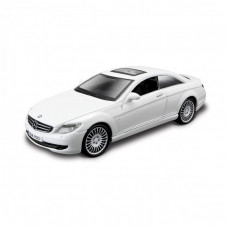 Автомодель - MERCEDES-BENZ CL-550 (білий,чорний, 1:32)