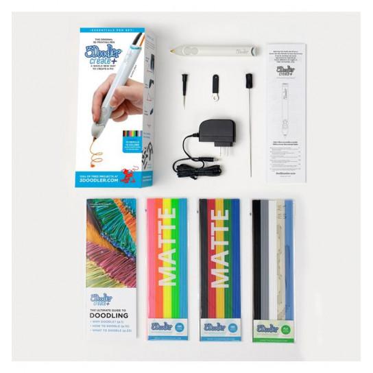 3D-Ручка 3Doodler Create Plus Для Профессионального Использования - Серая