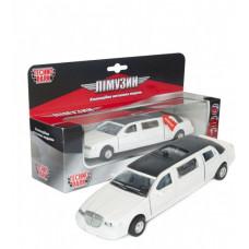 Автомодель - ЛІМУЗИН (білий)
