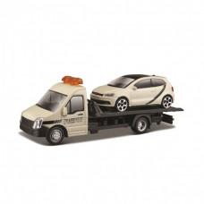 Ігровий набір - АВТОПЕРЕВІЗНИК c автомоделью VW POLO GTI MARK 5
