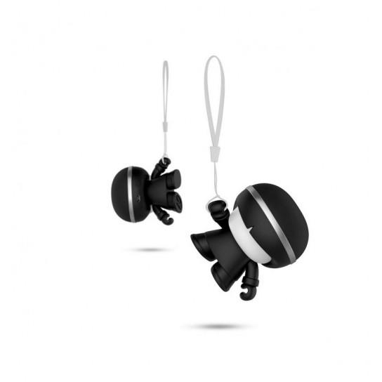 Акустика Xoopar - Mini Xboy (7,5 Cm, Черный Металлик, Bluetooth)