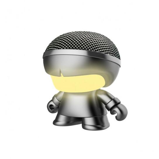 Акустика Xoopar - Mini Xboy (7,5 Cm, Серый Металлик, Bluetooth)