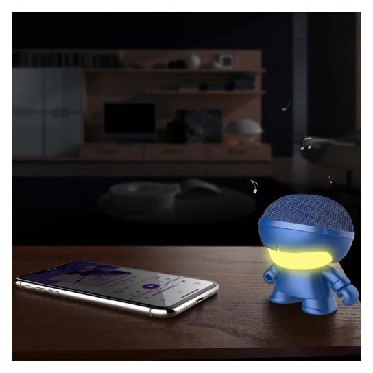 Акустика Xoopar - Mini Xboy (7,5 Cm, Синий Металлик, Bluetooth)
