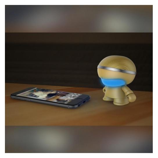 Акустика Xoopar - Mini Xboy (7,5 Cm, Золотая, Bluetooth, Моно)