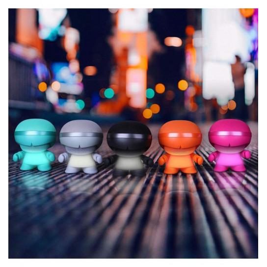 Акустика Xoopar - Xboy Glow (12 Cm, Чёрная, Bluetooth, Стерео, С Mp3-Проигрывателем С Sd-Карты)