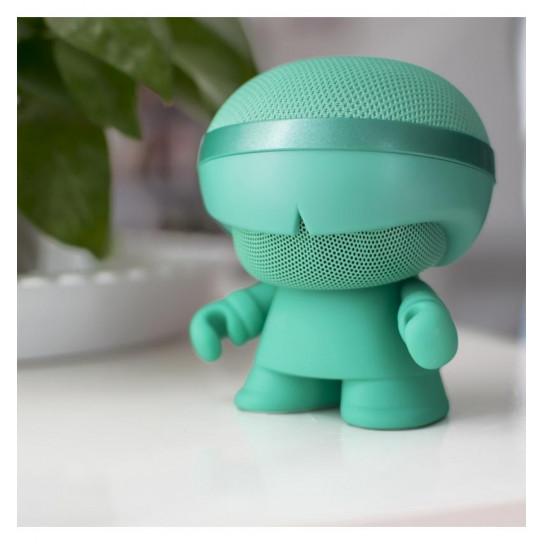 Акустика Xoopar - Xboy Glow (12 Cm, Мятная, Bluetooth, Стерео, С Муз. Mp3-Проигрывателем С Sd-Карт,