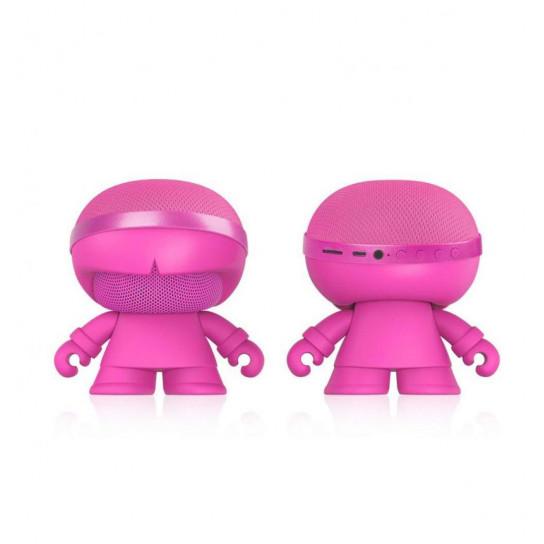 Акустика Xoopar - Xboy Glow (12Cm, Рожева, Bluetooth , Стерео, Mp3-Програвачем З Sd-Карт)