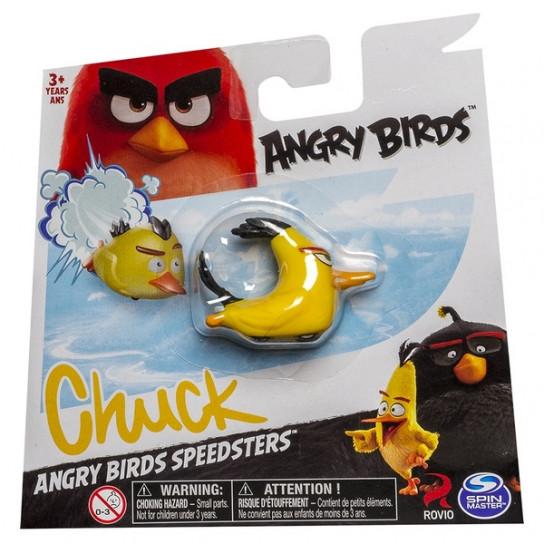 Angry Birds: птичка Чак на колесиках