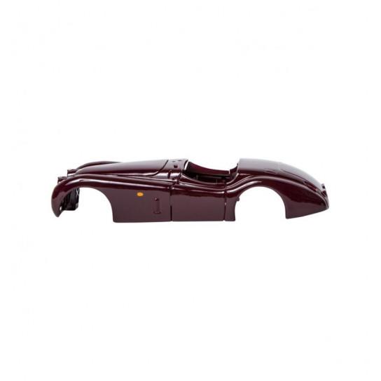 Авто-конструктор - JAGUAR XK 120 ROADSTER (1948) (вишневый, 1:24)