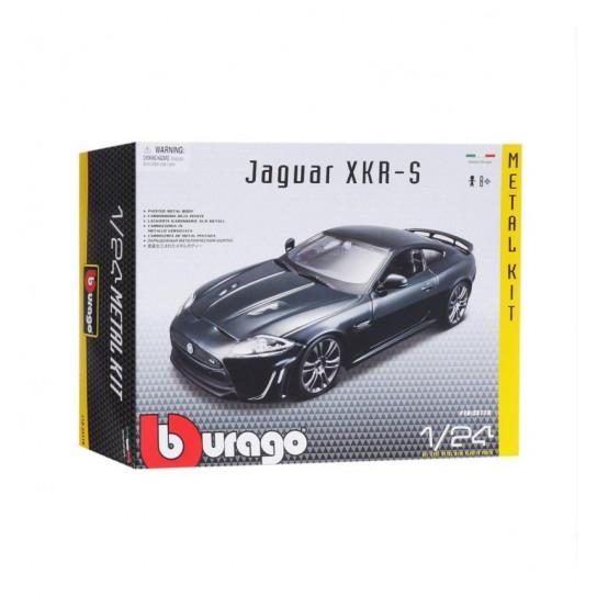 Авто-конструктор - JAGUAR XKR-S (темно-зелений, 1:24