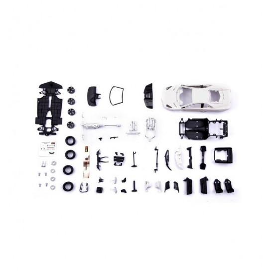 Авто-конструктор - LAMBORGHINI REVENTON (матовый белый, серый металлик, 1:24)