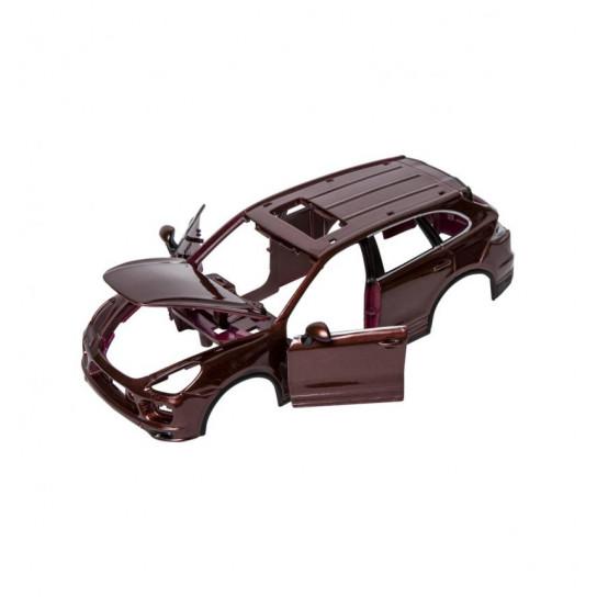 Авто-конструктор - PORSCHE CAYENNE TURBO (коричневий металік, 1:24)