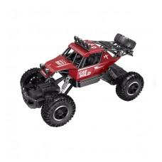 Автомобиль OFF-ROAD CRAWLER на р/у – CAR VS WILD (красный, аккум. 3,6V, метал. корпус, 1:20)