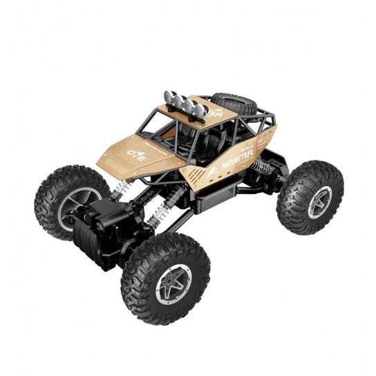 Автомобиль Off-Road Crawler на Р/У – Force (Золотой, Аккум. 7.2V, Метал. Корпус, 1:14)