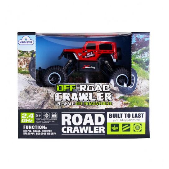 Автомобіль Off-Road Crawler З Р/К - Wild Country (Червоний)