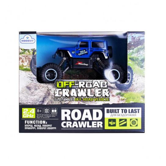 Автомобіль Off-Road Crawler З Р/К - Wild Country (Синій)