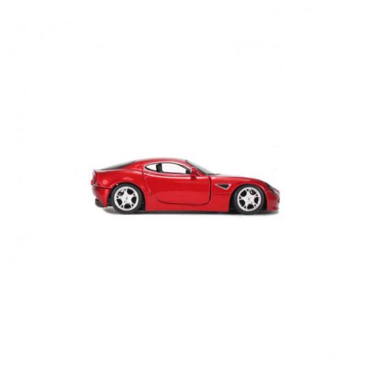 Автомодель - ALFA 8C COMPETIZIONE (2007) (червоний металік 1:32)