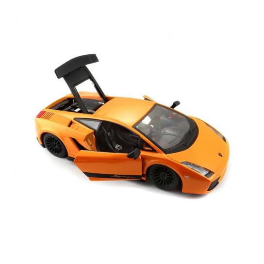 Автомодель - LAMBORGHINI GALLARDO SUPERLEGGERA (2007) (оранжевый металлик, 1:24)