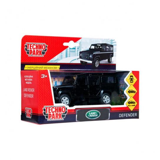 Автомодель - Land Rover Defender (Черный, 1:32)