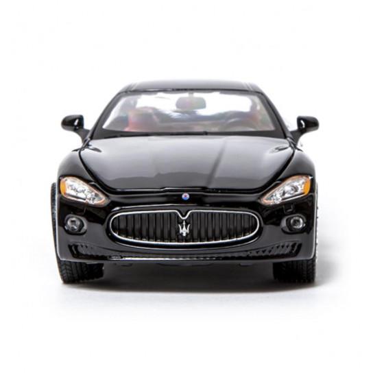Автомодель - MASERATI GRANTOURISMO (2008) (ассорти черный, серебристый, 1:24)