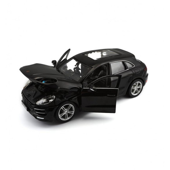 Автомодель - PORSCHE MACAN (черный, 1:24)