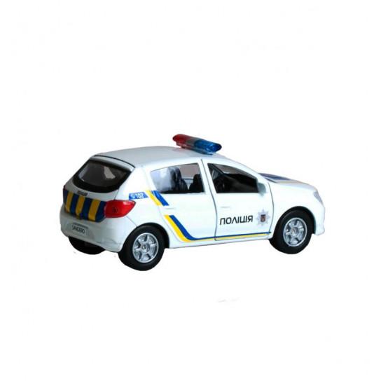 Автомодель - Renault Sandero Полиция