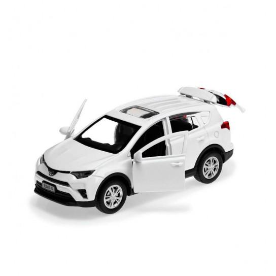 Автомодель - Toyota Rav4 (Белый, 1:32)