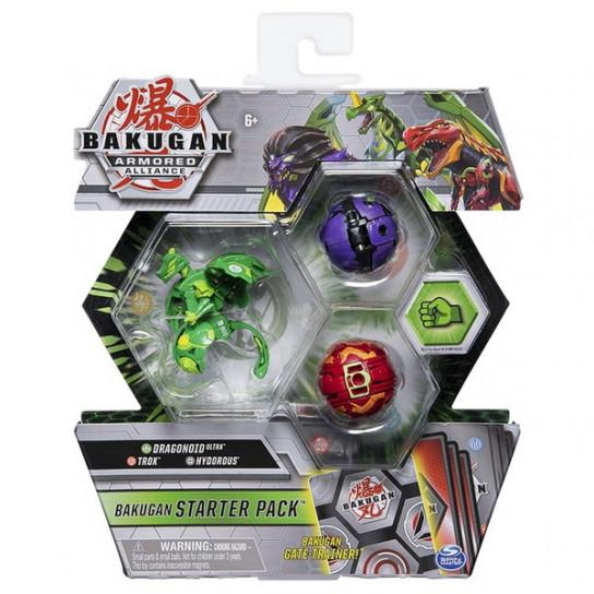 Bakugan Armored Alliance: Набор из трех бакуганов Драгоноид Вентус
