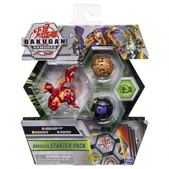 Bakugan Armored Alliance: Набор из трех бакуганов Холкор Пайрус
