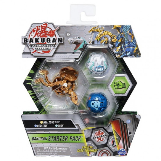 Bakugan Armored Alliance: Набор из трех бакуганов Ниллиус Аурелус