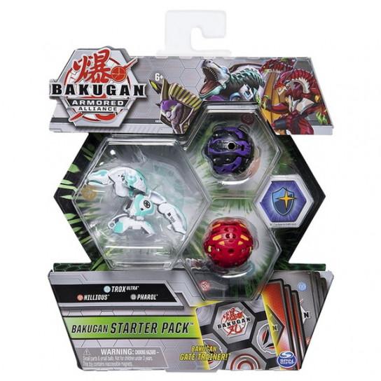 Bakugan Armored Alliance: Набор из трех бакуганов Трокс Хаос
