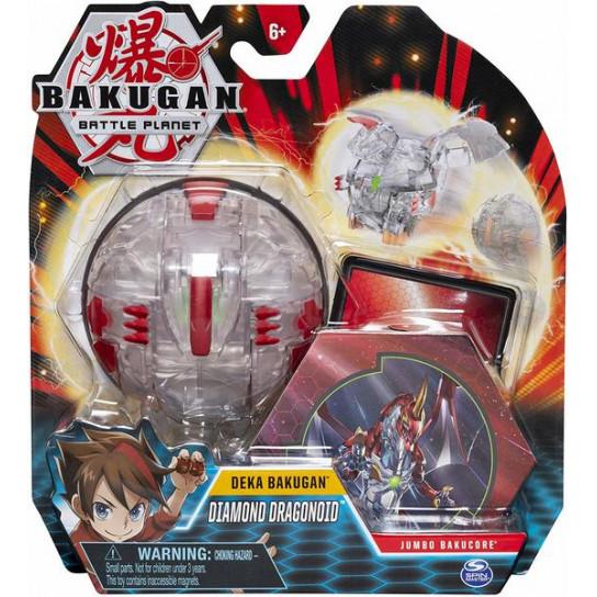 Bakugan.Battle planet: ігровий набір з одного бакугана Deka Dragonoid Diamond