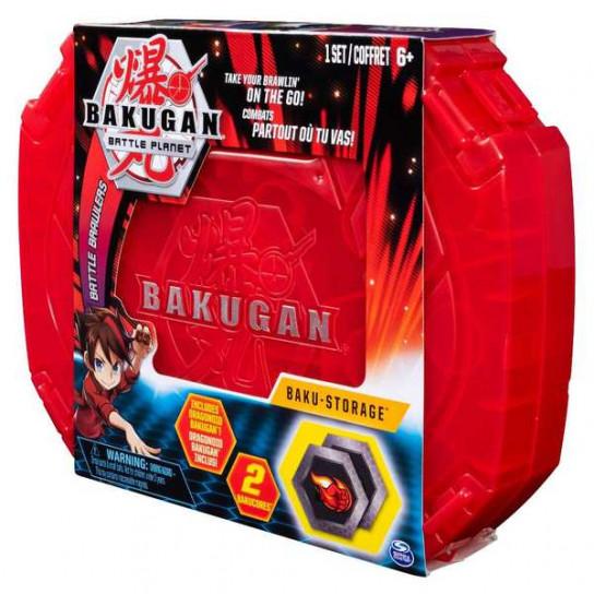 Bakugan.Battle planet: кейс для зберігання бакуганів червоний