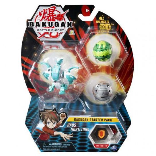 Bakugan Battle Planet: набор из 3х бакуганов Хаос Нобилиус