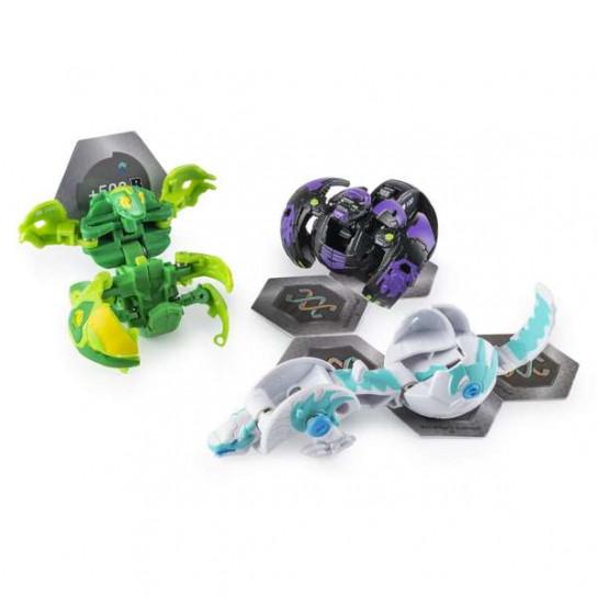 Bakugan Battle Planet: набор из 3х бакуганов Вентус Вайсрокс