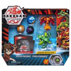 Bakugan Battle Planet:большой набор из 5 бакуганов Фаэдрус и Гидроноид