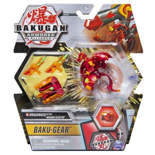 Bakugan Armored Alliance: Боевой Ультра бакуган с оружием Драгоноид