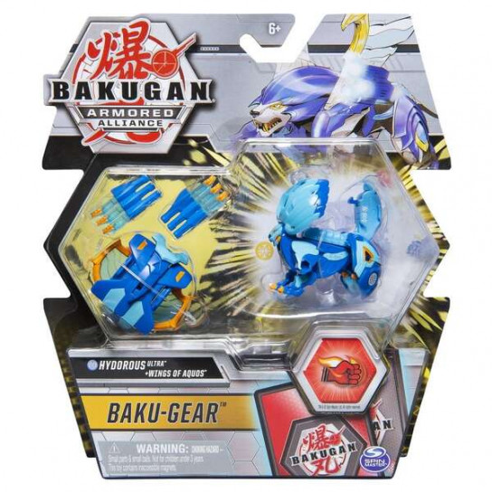 Bakugan Armored Alliance: Боевой Ультра бакуган с оружием Гидориус