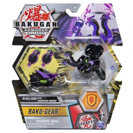 Bakugan Armored Alliance: Боевой Ультра бакуган с оружием Ниллиус
