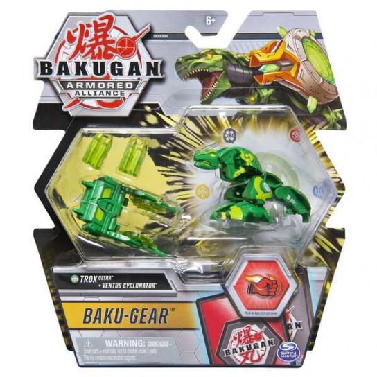 Bakugan Armored Alliance: Боевой Ультра бакуган Трокс с оружием