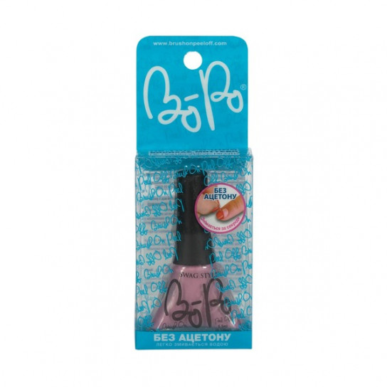 BoPo: Лак для ногтей в упаковке (светло-розовый)