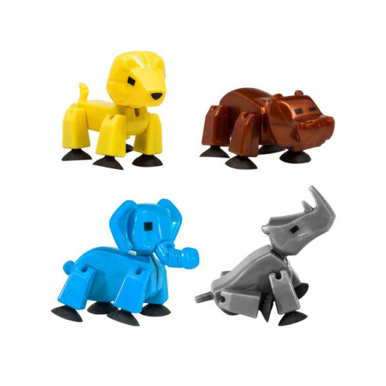 Фигурка Для Анимационного Творчества Stikbot Safari Pets