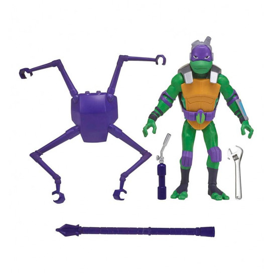 Фигурка серии Эволюция Черепашек-Ниндзя W3 - Дон с панцирем-пауком