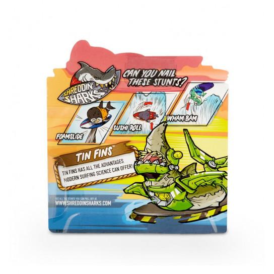 Фингерборд С Фигуркой Shreddin' Sharks - Tin Fins