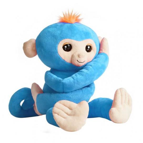 Fingerlings: Мягкая интерактивная обезьянка-обнимашка Борис